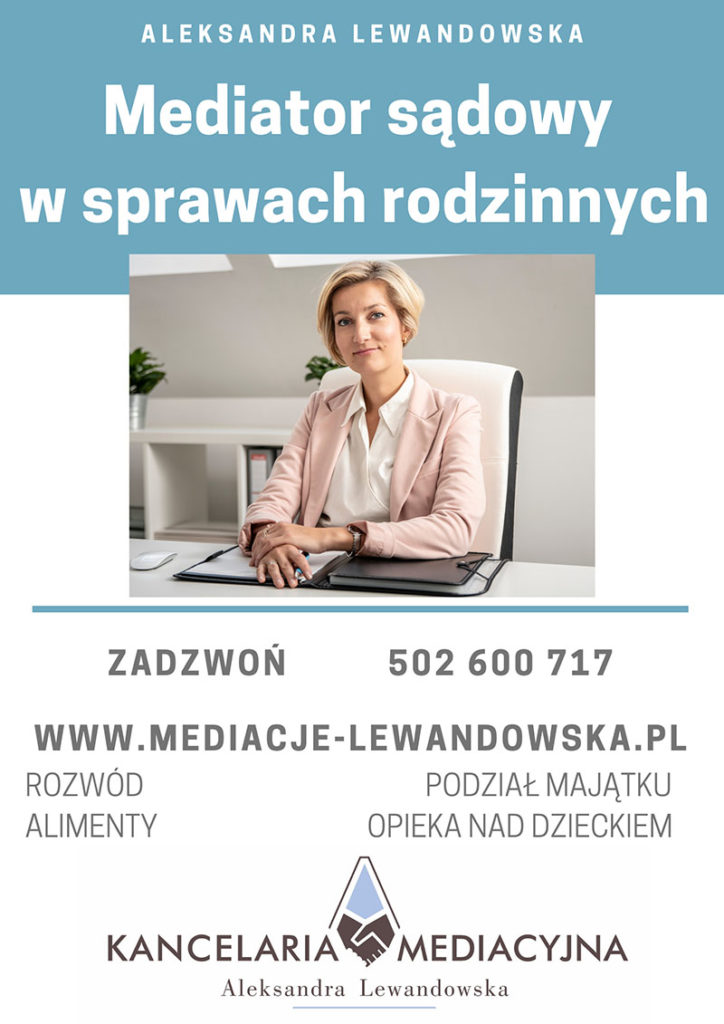 alimenty Gdynia, mediacje sądowe
