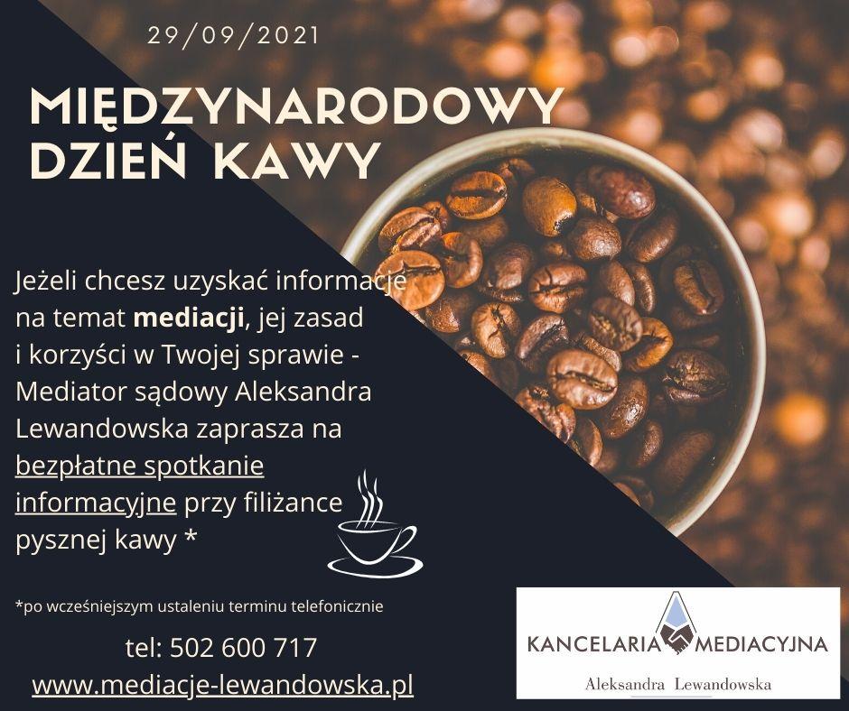 mediacje sądowe Gdynia, mediacje zamiast sądów, dzień kawy